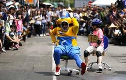 Xả stress với cuộc đua ghế văn phòng tại Đài Loan, Trung Quốc