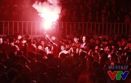 1.500 fan Man Utd vỡ òa sau chiến thắng trước Arsenal trong Ngày hội Quỷ đỏ
