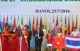 Đoàn Việt Nam giành huy chương vàng tại Olympic Sinh học quốc tế