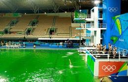 Olympic Rio 2016: Bể bơi xanh lá kỳ dị sẽ sớm được trả lại màu đại dương