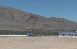 Hệ thống giao thông siêu tốc Hyperloop ra mắt công chúng
