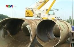 Băn khoăn việc chọn ống nước cho dự án cấp nước sông Đà 2