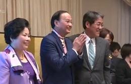 Nhật Bản trao huân chương Mặt trời mọc cho đồng chí Tô Huy Rứa