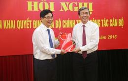 Đồng chí Cao Đức Phát giữ chức Phó Trưởng Ban Kinh tế Trung ương