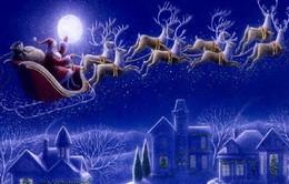 Ông già Noel khởi hành đi phát quà