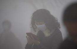 Trung Quốc ban hành cảnh báo vàng ô nhiễm không khí