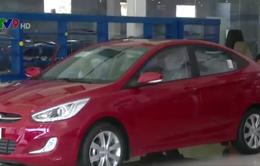 Lượng ô tô nhập khẩu giảm mạnh trong tháng 01/2016
