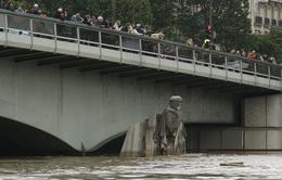 Trận lụt lịch sử thu hút khách du lịch tại Paris, Pháp