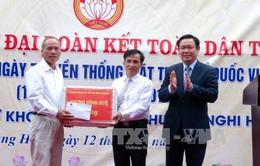 Phó Thủ tướng Vương Đình Huệ dự Ngày hội Đại đoàn kết toàn dân tộc tại Nghệ An