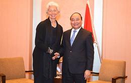 Thủ tướng Nguyễn Xuân Phúc tiếp Tổng Giám đốc IMF