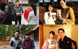 MC Hồng Phúc rạng rỡ bên các nữ MC Nhật Bản xinh đẹp