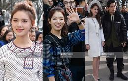 Sao châu Á tụ hội tại Paris Fashion Week