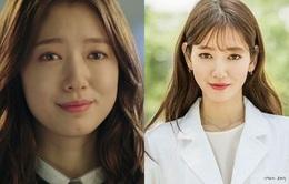 Park Shin Hye giảm cân khiến mặt nhỏ bất ngờ