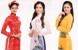 Top 30 Hoa hậu Việt Nam 2016 KV miền Nam đẹp duyên dáng trong tà áo dài