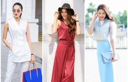 Phạm Hương gợi ý phong cách thời trang công sở đẹp mê người