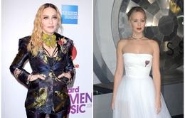 Madonna, Jennifer Lawrence lọt top sao nữ mặc đẹp nhất trên thảm đỏ tuần qua