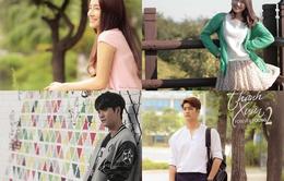 Phim Tuổi thanh xuân: Loạt ảnh thấy rõ sự thay đổi của Nhã Phương và Kang Tae Oh sau 2 năm