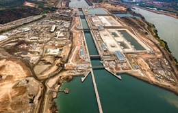 Panama mở cửa kênh đào mở rộng
