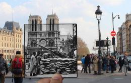 Độc đáo hình ảnh Paris xưa và nay