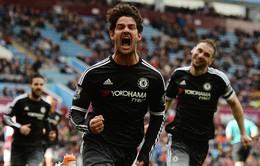 Pato lần thứ 4 ghi bàn trong lần đầu ra mắt đội bóng mới