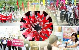 Hôm nay (1/12), ngày thế giới phòng chống HIV/AIDS