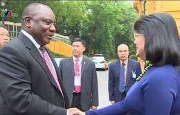 Phó Chủ tịch nước hội đàm với Phó Tổng thống Cộng hoà Nam Phi