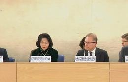 Phó Chủ tịch nước tham dự Khóa họp thứ 32 Hội đồng Nhân quyền LHQ