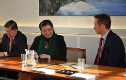 Phó Chủ tịch Quốc hội Tòng Thị Phóng gặp gỡ lãnh đạo Đan Mạch