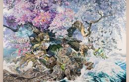Trầm trồ trước tác phẩm nghệ thuật mất hơn 3 năm để hoàn thành của nghệ sĩ Nhật