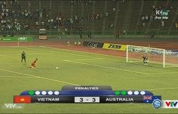 VIDEO Chung kết U16 Đông Nam Á: Xem lại loạt đá luân lưu U16 Việt Nam 3-5 U16 Australia