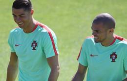 Tin vui cho Bồ Đào Nha: Pepe kịp dự Chung kết EURO 2016