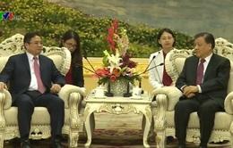 Đồng chí Phạm Minh Chính hội kiến với Ủy viên Thường vụ Bộ Chính trị Trung Quốc