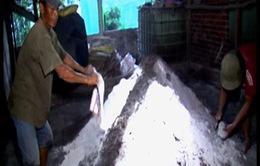Bắt cơ sở sản xuất phân bón giả tại An Giang