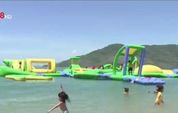 Thêm một khu công viên phao nổi trên biển tại Khánh Hòa