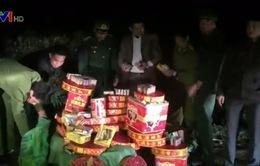 Cao Bằng bắt gần 300kg pháo lậu