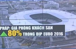 Pháp: Giá khách sạn tại các thành phố đăng cai Euro 2016 tăng 80%