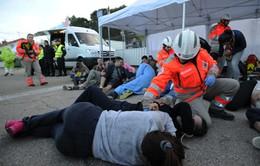 Pháp diễn tập chống khủng bố chuẩn bị cho EURO 2016