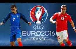 EURO 2016, Pháp – Thuỵ Sĩ: Cuộc chiến ngôi đầu (2h00 ngày 20/6 trên VTV3 & VTV3HD)