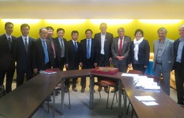 Đoàn đại biểu Đảng Cộng sản Việt Nam dự Đại hội 37 Đảng Cộng sản Pháp
