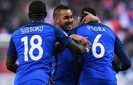 Vòng loại World Cup 2018: Paul Pogba ghi bàn, ĐT Pháp ngược dòng trước Thụy Điển