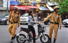 Đà Nẵng tăng cường xử phạt trường hợp không đội mũ bảo hiểm dịp Tết