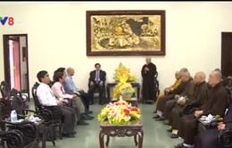 Mặt trận Tổ quốc Việt Nam chúc mừng đại lễ Phật Đản