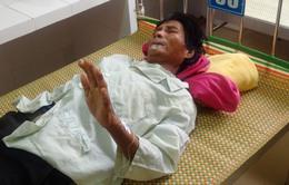 Bệnh nhân viêm da dày sừng đang nguy kịch