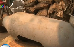 Ẩn họa cháy nổ từ những điểm thu mua phế liệu chiến tranh