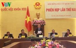 Hội đồng bầu cử quốc gia họp phiên thứ 2