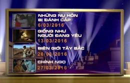 Chùm phim cuối tuần nước ngoài đặc sắc trên VTV tháng 3