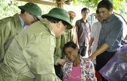 Phó Thủ tướng Trịnh Đình Dũng chỉ đạo khắc phục mưa lũ tại Lào Cai