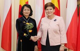 Phó Chủ tịch nước hội kiến Thủ tướng Ba Lan