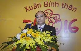 Phó Thủ tướng Nguyễn Xuân Phúc chúc Tết Ngân hàng Nhà nước