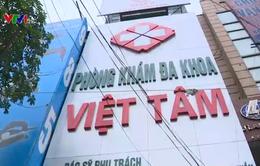 Tạm dừng hoạt động phòng khám Việt Tâm trên đường Giải Phóng